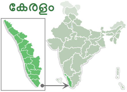 India-kerala-labelled-green